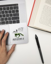 Horse And Into The Forest Sticker - Single (Vertical) aos-sticker-single-vertical-lifestyle-front-12