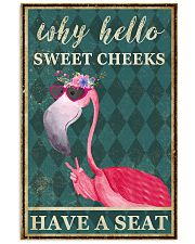 FLAMINGO WHY HELLO SWEET CHEEKS 11x17 Poster front