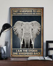 Elephant They Whispered To Her 11x17 Poster lifestyle-poster-2