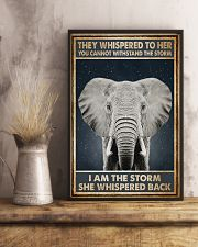 Elephant They Whispered To Her 11x17 Poster lifestyle-poster-3