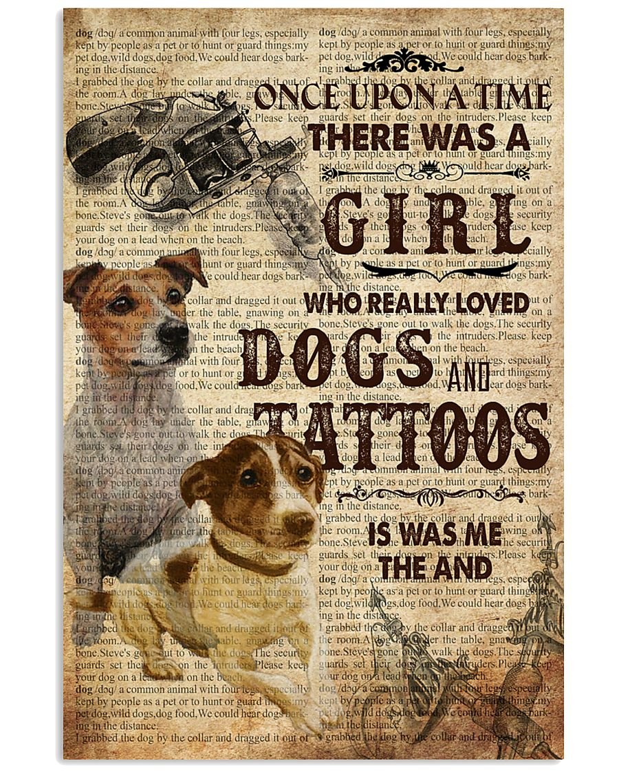 Dog And Tattoo Once Upon A Time 11x17 Poster