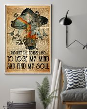 Mushroom And Into The Forest 11x17 Poster lifestyle-poster-1