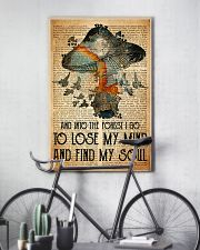 Mushroom And Into The Forest 11x17 Poster lifestyle-poster-7