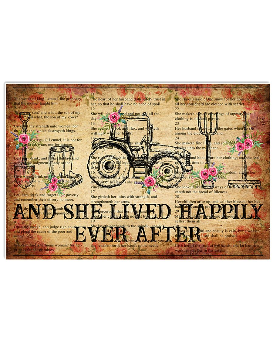 Farmer And She Lived 17x11 Poster