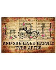 Farmer And She Lived 17x11 Poster front