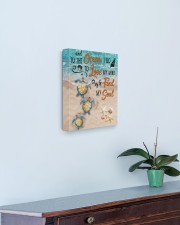 Beach And To The Ocean 11x14 Gallery Wrapped Canvas Prints aos-canvas-pgw-11x14-lifestyle-front-01