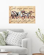 Goat God Says You Are 24x16 Poster poster-landscape-24x16-lifestyle-01