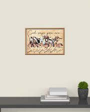 Goat God Says You Are 24x16 Poster poster-landscape-24x16-lifestyle-09