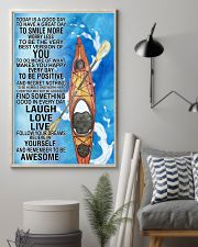 Kayaking Today Is Good Day Poster 11x17 Poster lifestyle-poster-1