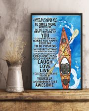 Kayaking Today Is Good Day Poster 11x17 Poster lifestyle-poster-3