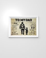 Firefighter To My Dad 24x16 Poster poster-landscape-24x16-lifestyle-02