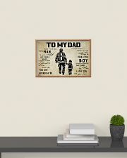 Firefighter To My Dad 24x16 Poster poster-landscape-24x16-lifestyle-09