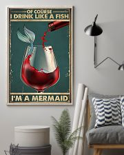 Mermaid Of Course I Drink Like A Fish Poster 11x17 Poster lifestyle-poster-1