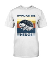 Hedgehog Living On The Hedge Classic T-Shirt front