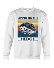 Hedgehog Living On The Hedge Crewneck Sweatshirt tile