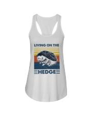 Hedgehog Living On The Hedge Ladies Flowy Tank tile