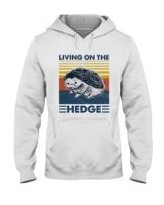 Hedgehog Living On The Hedge Hooded Sweatshirt tile