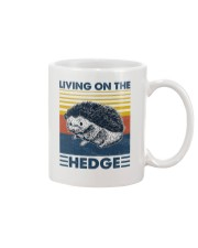 Hedgehog Living On The Hedge Mug tile