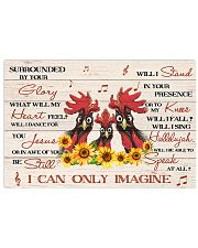Chicken Surrounded By Your Glory Poster 17x11 Poster front