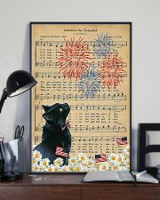 Black Cat American The Beautiful 16x24 Poster lifestyle-poster-2