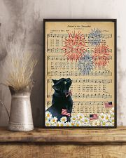 Black Cat American The Beautiful 16x24 Poster lifestyle-poster-3