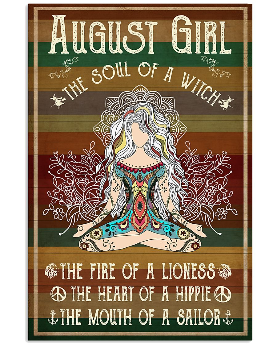 Yoga August Girl The Soul Of A Witch 11x17 Poster