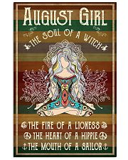 Yoga August Girl The Soul Of A Witch 11x17 Poster front