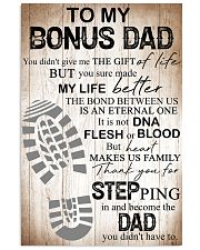 Father To My Bonus Dad Poster 11x17 Poster front