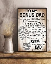 Father To My Bonus Dad Poster 11x17 Poster lifestyle-poster-3