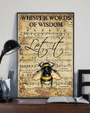 Hippie Bee Song 11x17 Poster lifestyle-poster-2