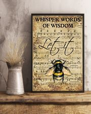 Hippie Bee Song 11x17 Poster lifestyle-poster-3