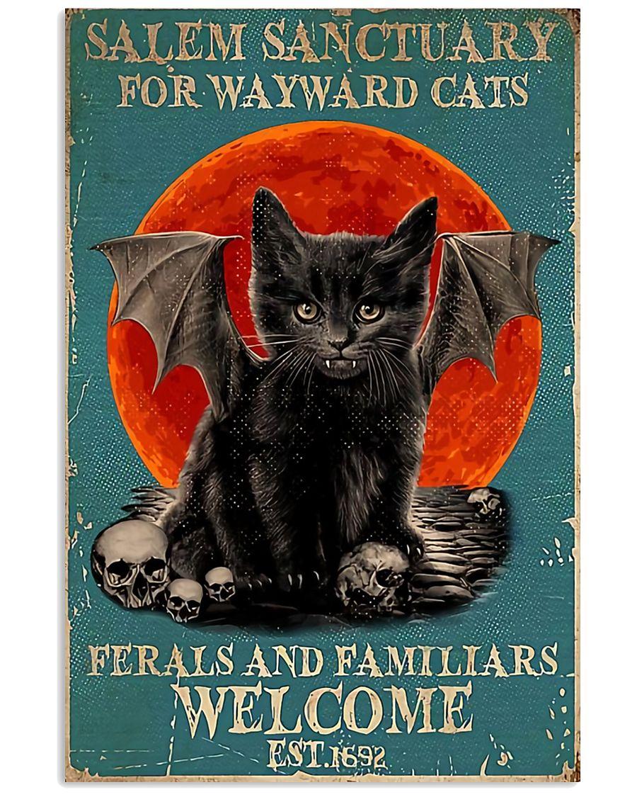 Cat Salem Sanctuary 16x24 Poster