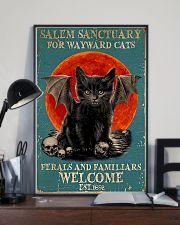 Cat Salem Sanctuary 16x24 Poster lifestyle-poster-2