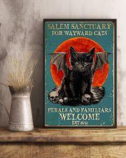 Cat Salem Sanctuary 16x24 Poster lifestyle-poster-3