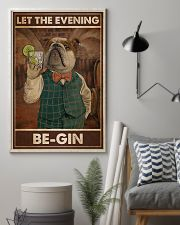 Gin Let The Evening Be Gin 11x17 Poster lifestyle-poster-1