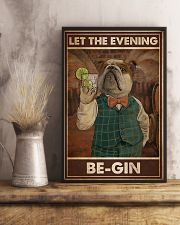 Gin Let The Evening Be Gin 11x17 Poster lifestyle-poster-3