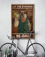 Gin Let The Evening Be Gin 11x17 Poster lifestyle-poster-7