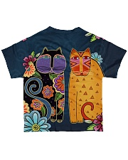 Cat 3D Pattern All-over T-Shirt back
