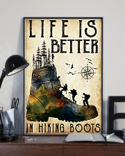 Hiking Life Is Better In Hiking Boots 11x17 Poster lifestyle-poster-2