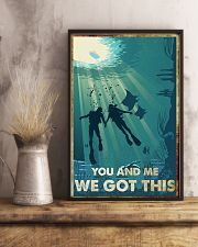Scuba Diving You And Me We Got This Poster 11x17 Poster lifestyle-poster-3