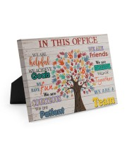 In This Office Easel-Back Gallery Wrapped Canvas tile