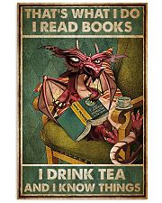 Dragon That's What I Do I Read Books Poster 11x17 Poster front