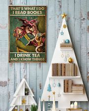 Dragon That's What I Do I Read Books Poster 11x17 Poster lifestyle-holiday-poster-2