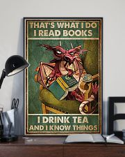 Dragon That's What I Do I Read Books Poster 11x17 Poster lifestyle-poster-2