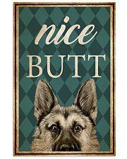 German Shepherd Nice Butt 16x24 Poster front
