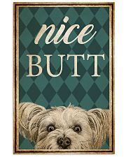 Yorkshire Terrier Nice Butt 11x17 Poster front