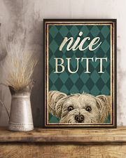 Yorkshire Terrier Nice Butt 11x17 Poster lifestyle-poster-3