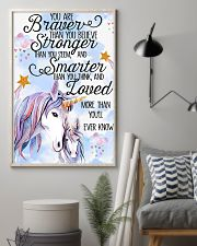 Unicorn You Are Braver 11x17 Poster lifestyle-poster-1
