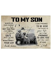 Fishing To My Son Poster 24x16 Poster front