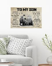Fishing To My Son Poster 24x16 Poster poster-landscape-24x16-lifestyle-01